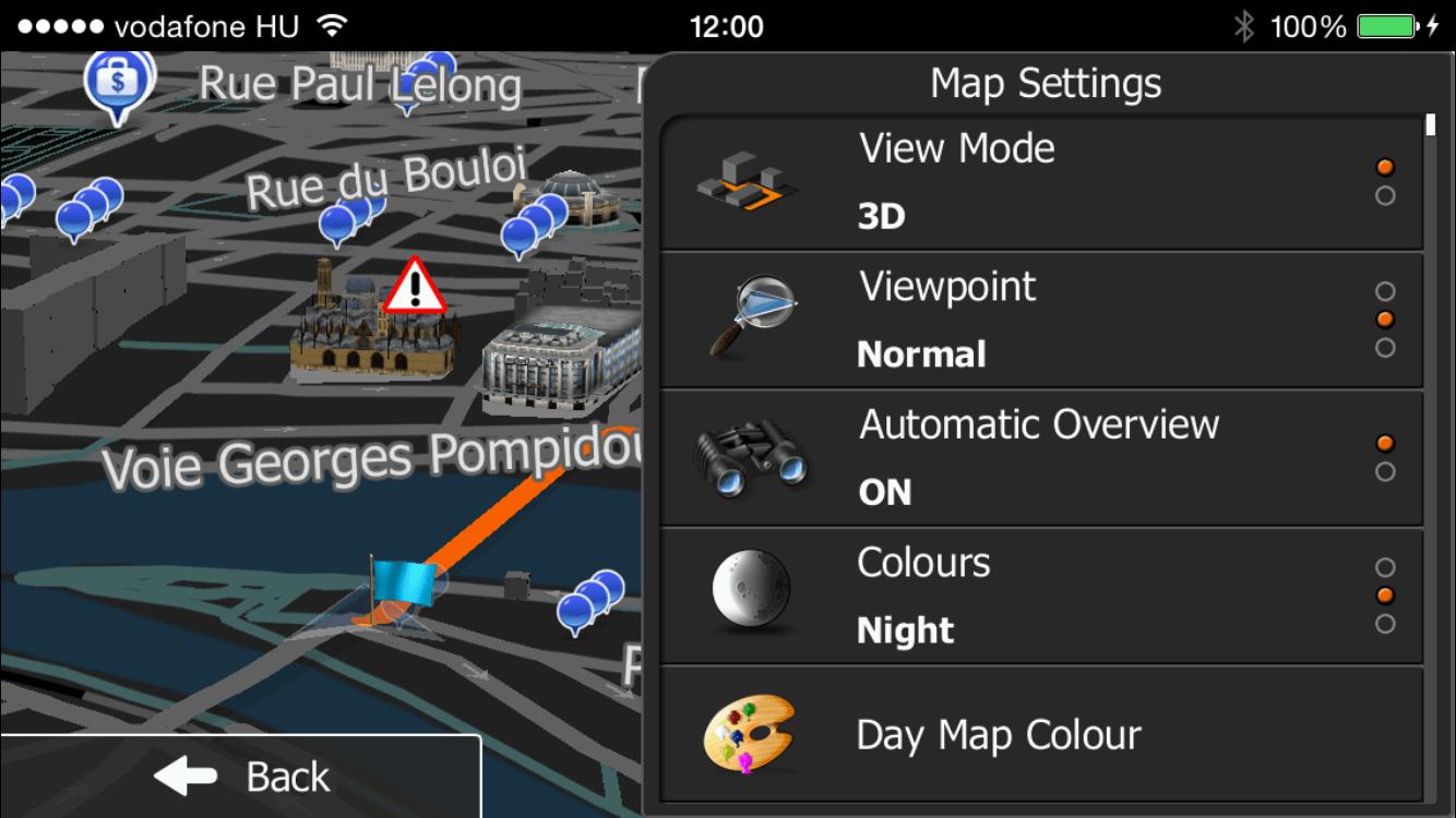 Europe iGO primo app
