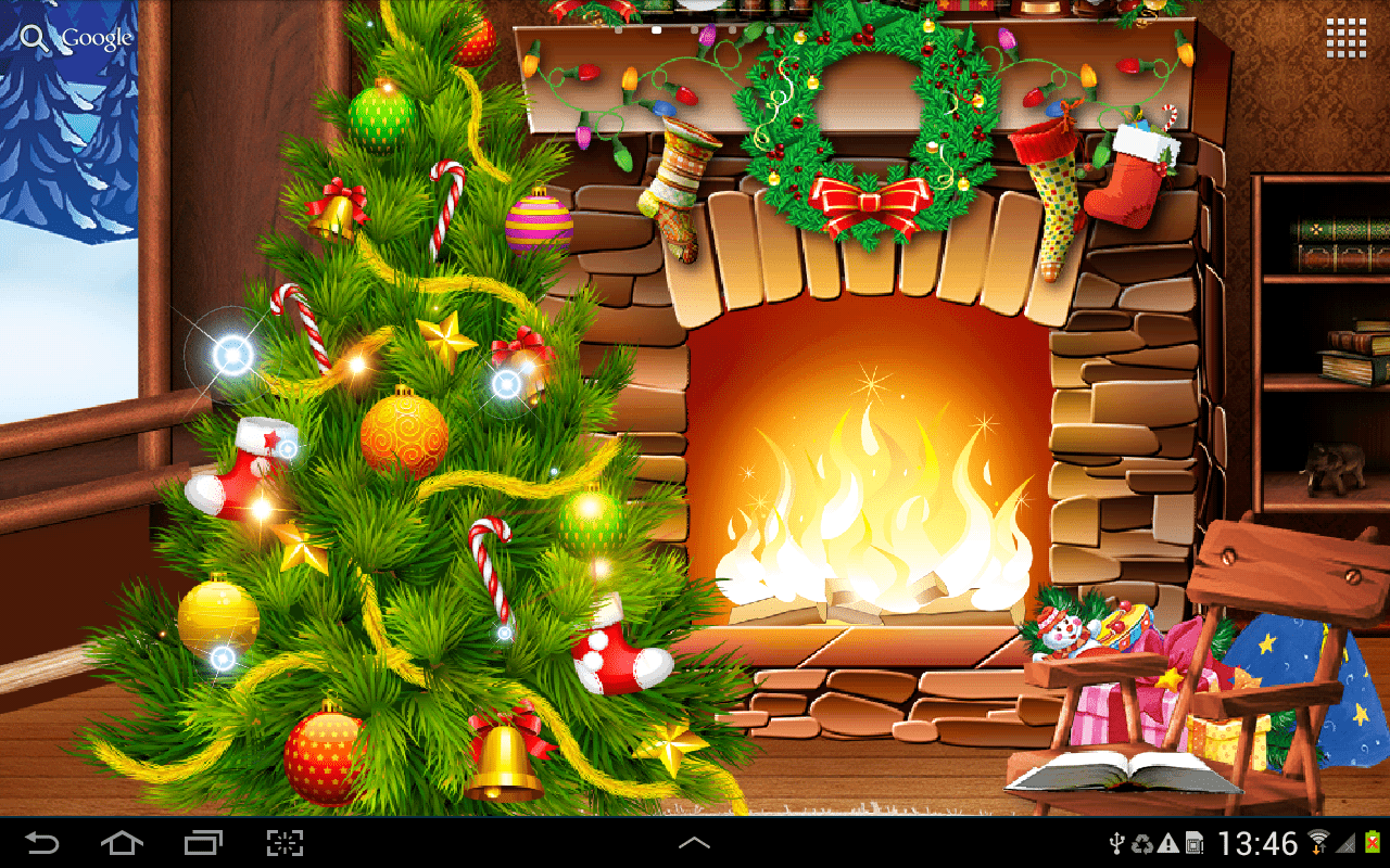 top 3 christmas live wallpapers - 4mobiles