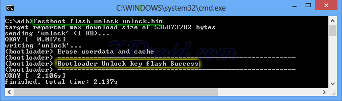 LG flash unlock unlock.bin