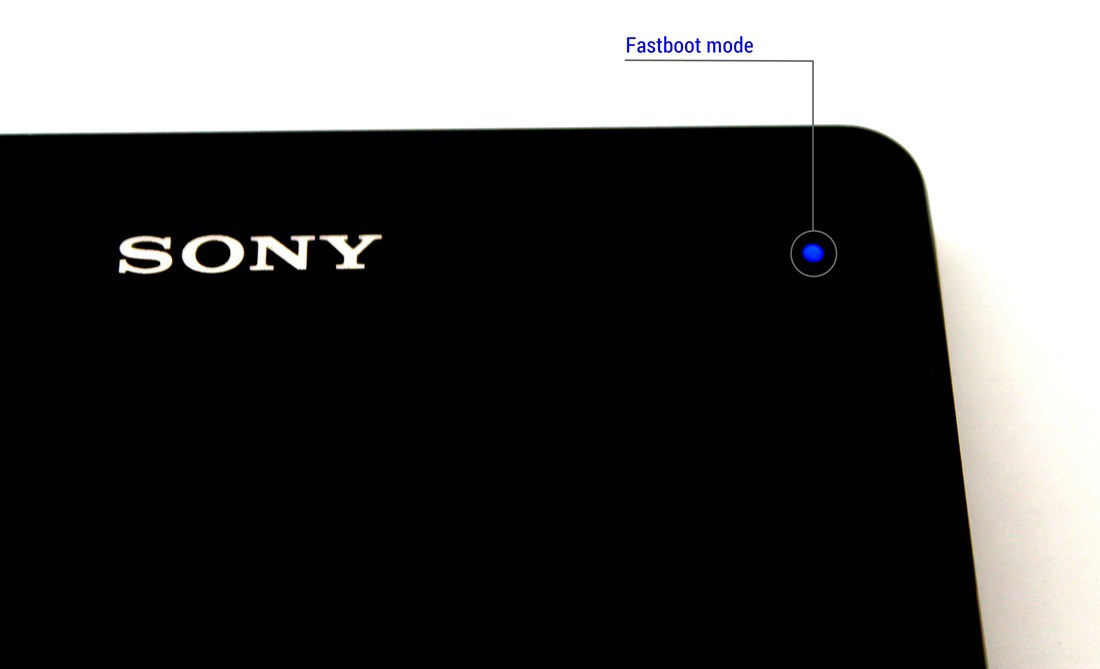 Sony fastboot mode