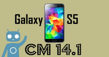 Update Galaxy S5 to Android Nougat 7.1 (CM 14.1)