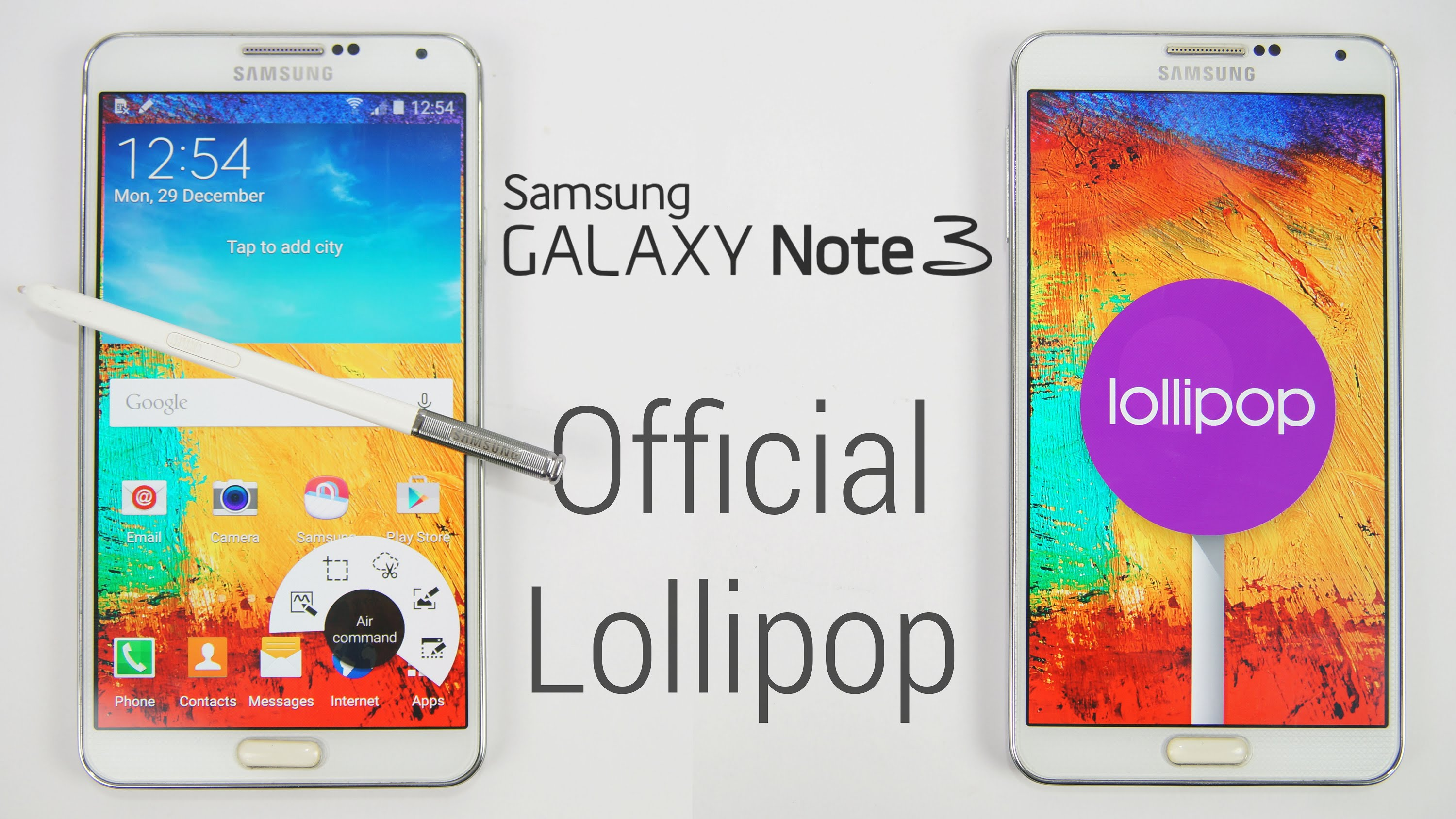 Update Samsung Galaxy Note 3 Neo N7505 to Lollipop 5 1 1