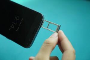 Galaxy S7 SIM card tray