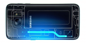 Galaxy S7 cooling system