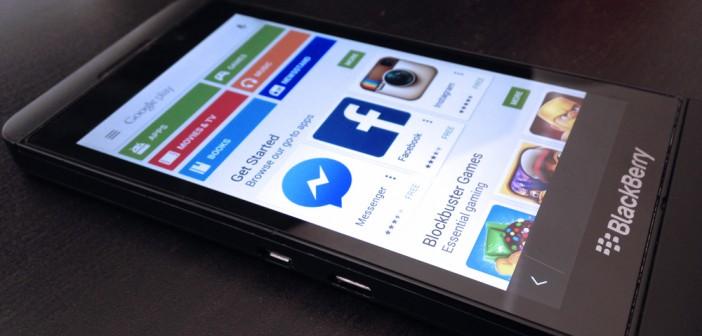 Install Google Play Store on BlackBerry 10 - 4mobiles net