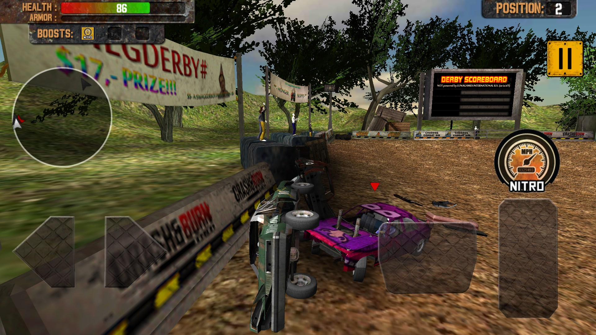 Demolition Derby Crash Racing3