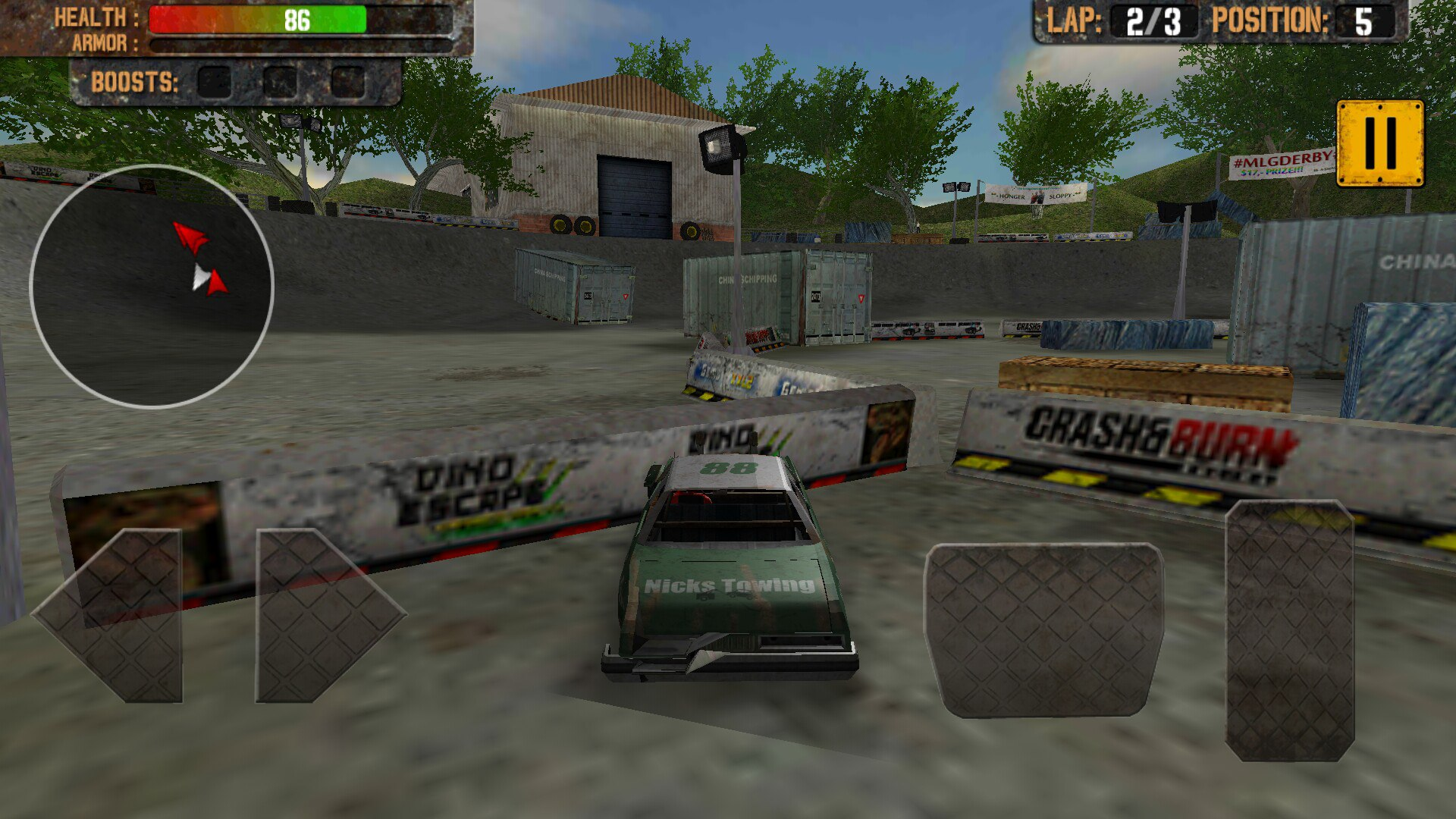 Demolition Derby Crash Racing4