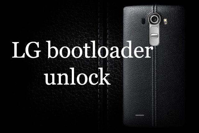 LG bootloader unlock - 4mobiles net
