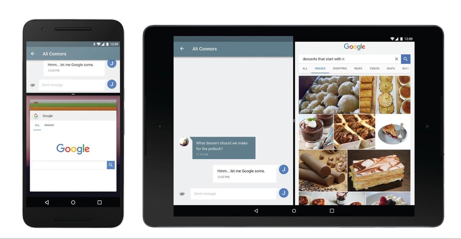 Android N multitasking