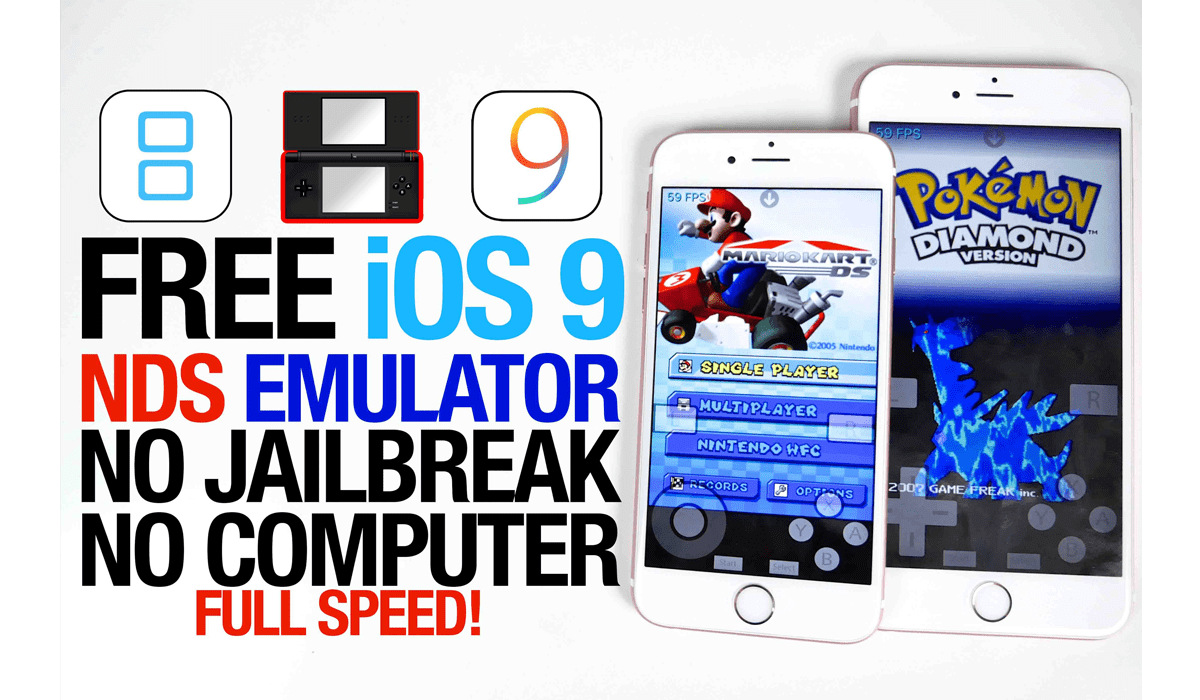 Get Nintendo DS Emulator on iOS 9 for free - 4mobiles net