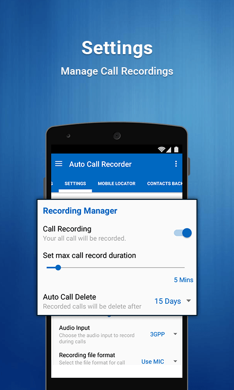 Auto Call Recorder 20163