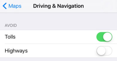 ios-10-avoid-tolls