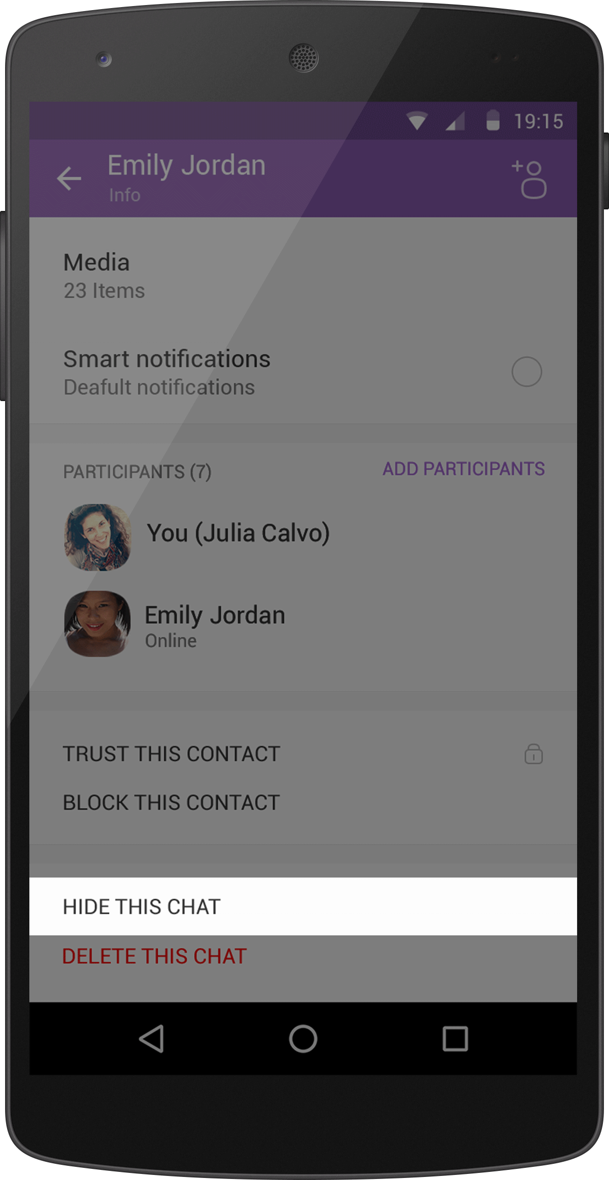 viber-hide-chat