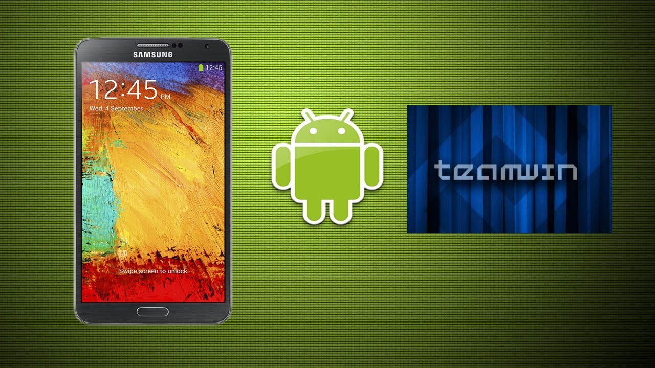 Install TWRP recovery on Galaxy Note 3 - 4mobiles net